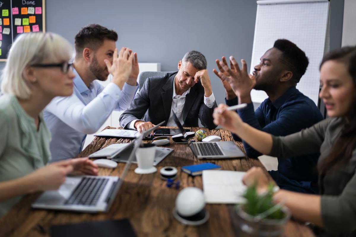 konflikt på arbejdspladsen